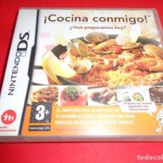 Videojuegos y Consolas: NINTENDO DS / ¡COCINA CONMIGO! / EL SIMPÁTICO CHEF DE NINTENDO DS. Lote 214640055