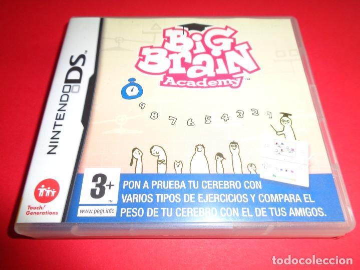 NINTENDO DS / BIG BRAIN ACADEMY / PON A PRUEBA TU CEREBRO (Juguetes - Videojuegos y Consolas - Nintendo - DS)
