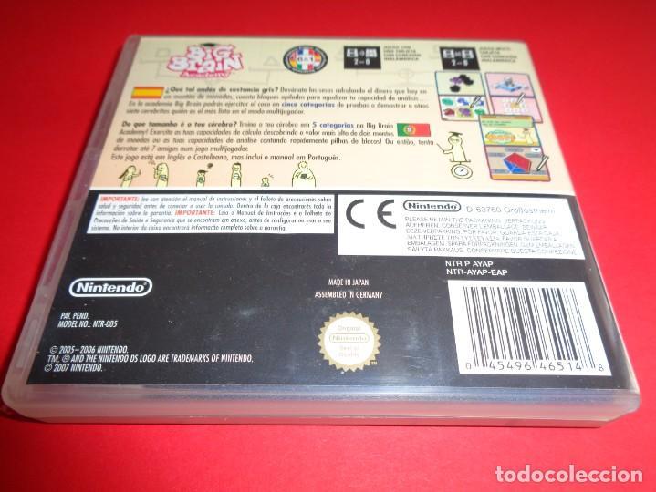 Videojuegos y Consolas: NINTENDO DS / BIG BRAIN ACADEMY / PON A PRUEBA TU CEREBRO - Foto 2 - 214640261