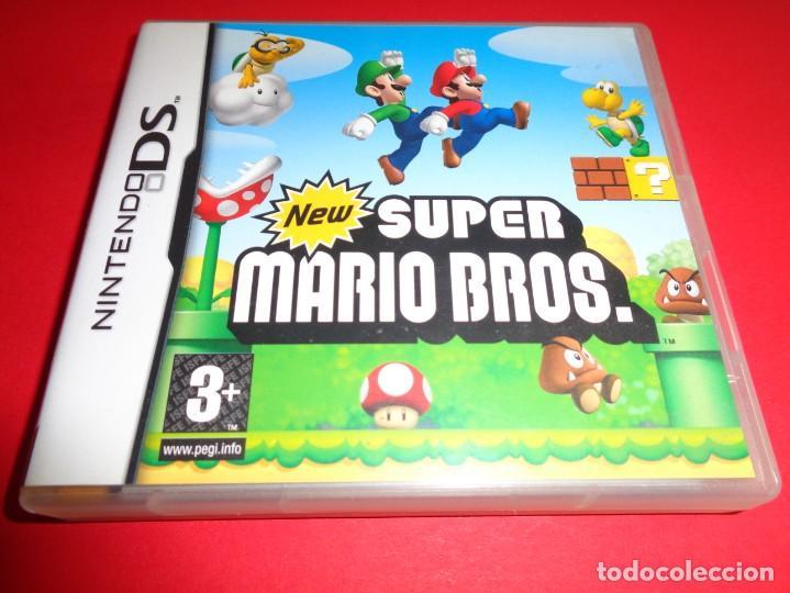 NINTENDO DS / SUPER MARIO BROS / DESCUBRE UNA NUEVA AVENTURA DE MARIO (Juguetes - Videojuegos y Consolas - Nintendo - DS)