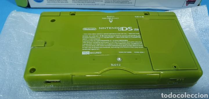 Videojuegos y Consolas: VIDEO CONSOLA- NINTENDO DS LITE VERDE - Foto 4 - 215243208
