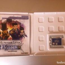 Videojuegos y Consolas: PROFESOR LAYTON VS PHOENIX WRIGHT PAL ESPAÑA. Lote 226390485