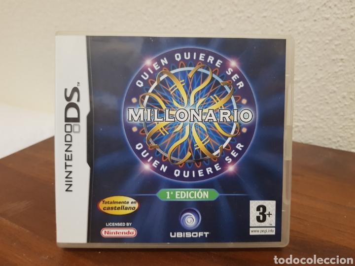 JUEGO QUIEN QUIERE SER MILLONARIO (Juguetes - Videojuegos y Consolas - Nintendo - DS)