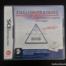 Videojuegos y Consolas: ENGLISH TRAINING: DISFRUTA Y MEJORA TU INGLES NINTENDO DS. Lote 216871050