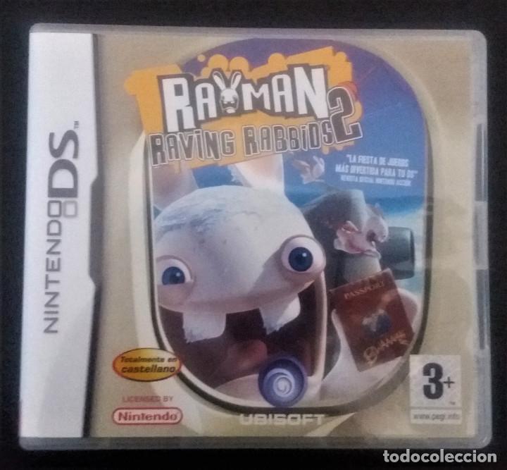 RAYMAN RAVING RABBIDS 2 NINTENDO DS (Juguetes - Videojuegos y Consolas - Nintendo - DS)