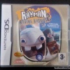 Videojuegos y Consolas: RAYMAN RAVING RABBIDS 2 NINTENDO DS. Lote 216871301