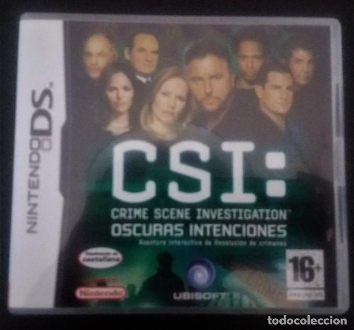 CSI OSCURAS INTENCIONES NINTENDO DS (Juguetes - Videojuegos y Consolas - Nintendo - DS)