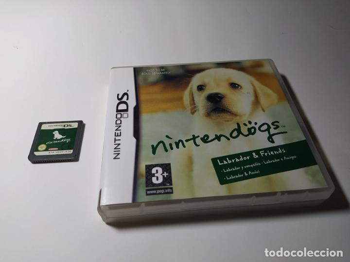 NINTENDOGS - LABRADOR ( NINTENDO DS - 3DS - PAL - ESP) (Juguetes - Videojuegos y Consolas - Nintendo - DS)
