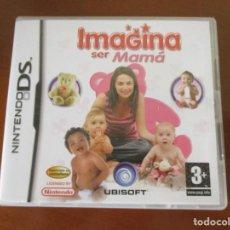 Videojuegos y Consolas: NINTENDO DS IMAGINA SER MAMA. Lote 217329441