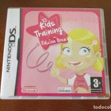 Videojuegos y Consolas: NINTENDO DS KIDS TRAINING EDICION ROSA. Lote 217329575