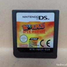Videojuegos y Consolas: NINTENDO DS WORMS OPEN WARFARE PAL ESP. Lote 217912638