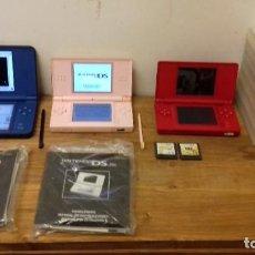 Videojuegos y Consolas: LOTE 2 NINTENDO DS 1 DS XL 7 JUEGOS CON ESTUCHES + DOS SIN ESTUCHE + INSTRUCCIONES. Lote 218074548