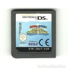 Videojuegos y Consolas: NINTENDO DS - MARIO & SONIC EN LOS JUEGOS OLÍMPICOS DE INVIERNO SEGA 2009. Lote 218121421