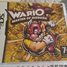 Videojuegos y Consolas: WARIO MASTER OF DISGUISE NINTENDO DS PAL ESPAÑA. Lote 226298300