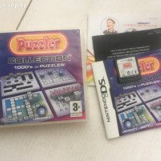 Videojuegos y Consolas: PUZZLER COLLECTION 1000'S OF PUZZLES NDS NINTENDO DS KREATEN. Lote 219328555