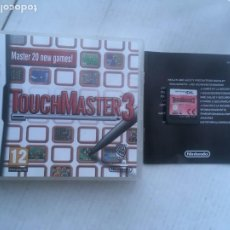 Videojuegos y Consolas: TOUCH MASTER 3 20 NEW GAMES TOUCHMASTER NDS NINTENDO DS KREATEN. Lote 219328723