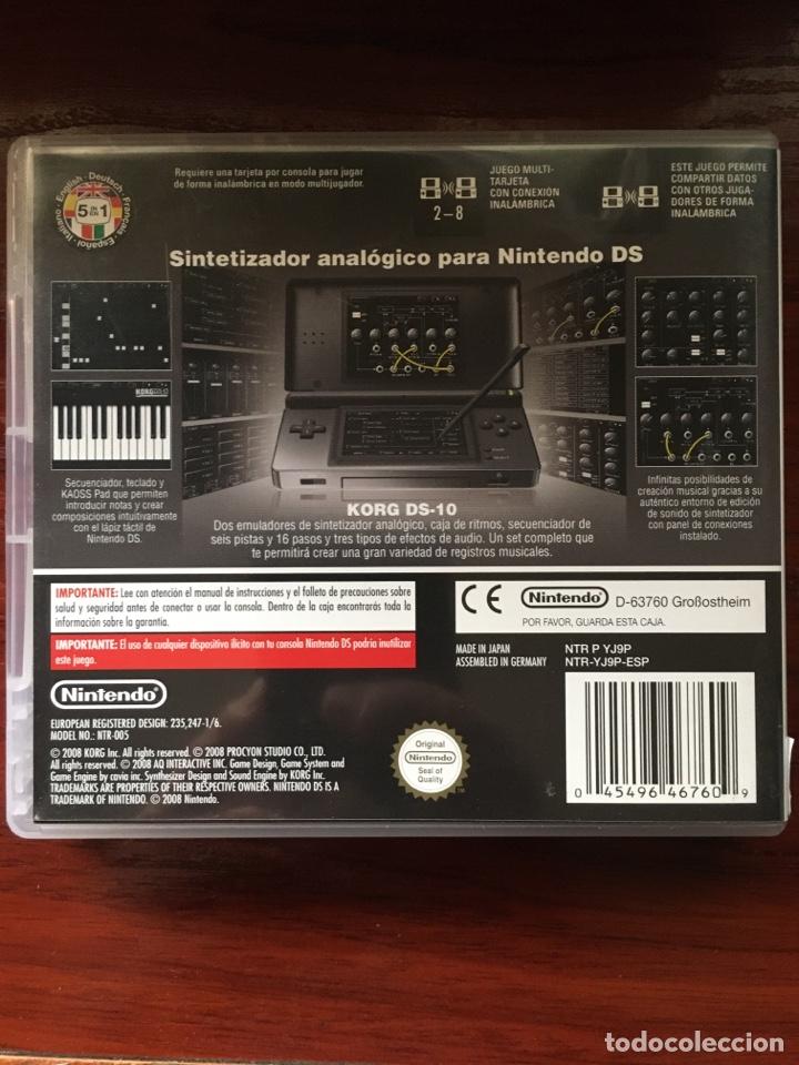 Videojuegos y Consolas: KORG DS-10 SYNTHESIZER-NINTENDO DS-MUY RARO Y DIFICIL-COMPLETO INCLUYE PUNTOS NINTENDO - Foto 2 - 219391747