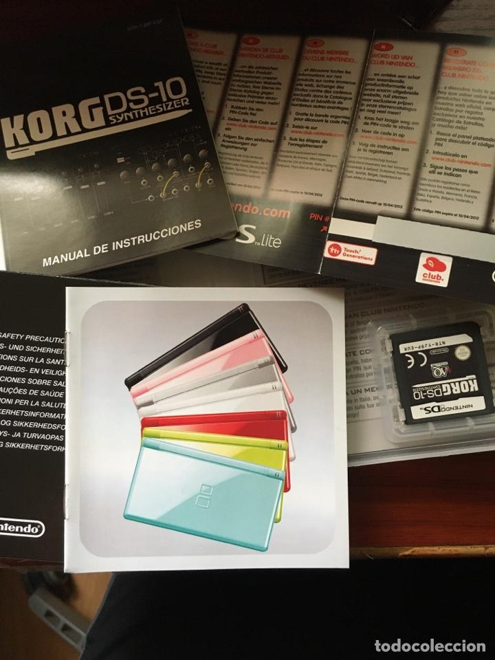 Videojuegos y Consolas: KORG DS-10 SYNTHESIZER-NINTENDO DS-MUY RARO Y DIFICIL-COMPLETO INCLUYE PUNTOS NINTENDO - Foto 3 - 219391747