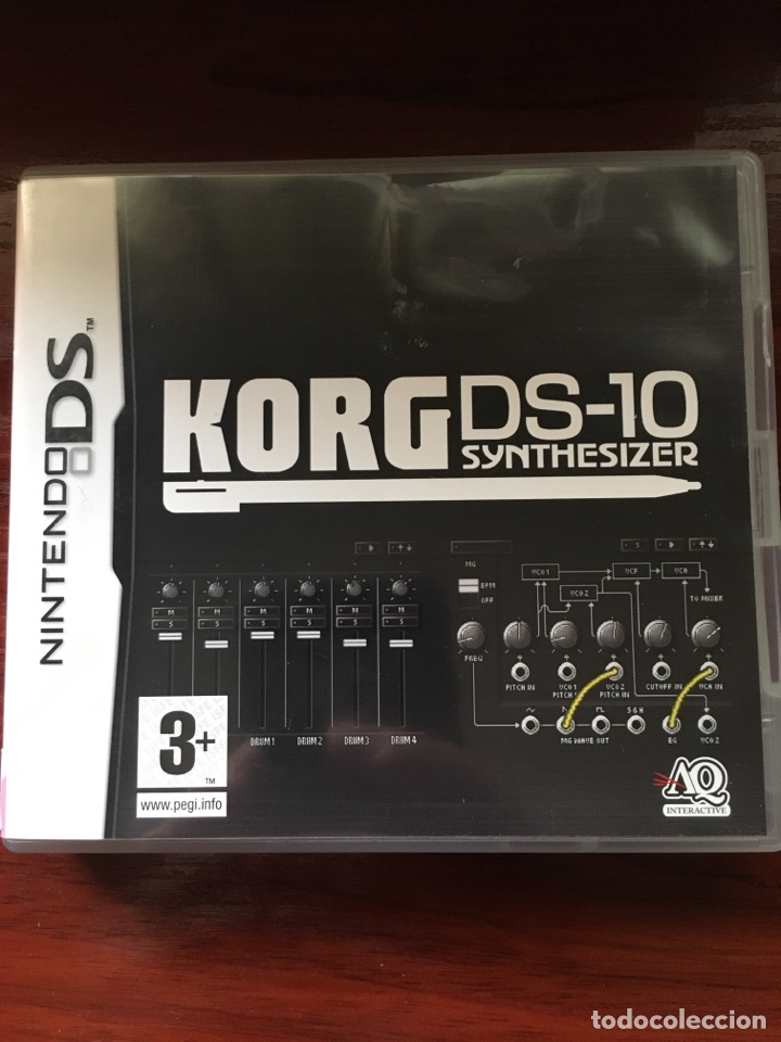 KORG DS-10 SYNTHESIZER-NINTENDO DS-MUY RARO Y DIFICIL-COMPLETO INCLUYE PUNTOS NINTENDO (Juguetes - Videojuegos y Consolas - Nintendo - DS)