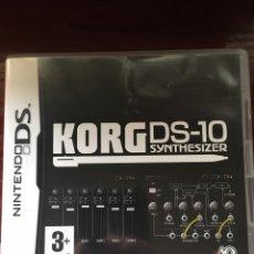 Videojuegos y Consolas: KORG DS-10 SYNTHESIZER-NINTENDO DS-MUY RARO Y DIFICIL-COMPLETO INCLUYE PUNTOS NINTENDO. Lote 219391747