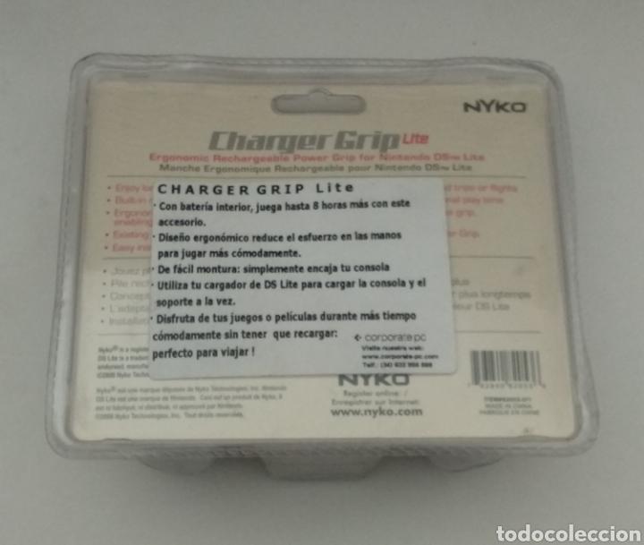 Videojuegos y Consolas: DOBLE BATERÍA PARA NINTENDO DS LITE - VER FOTOS - Foto 4 - 219628551