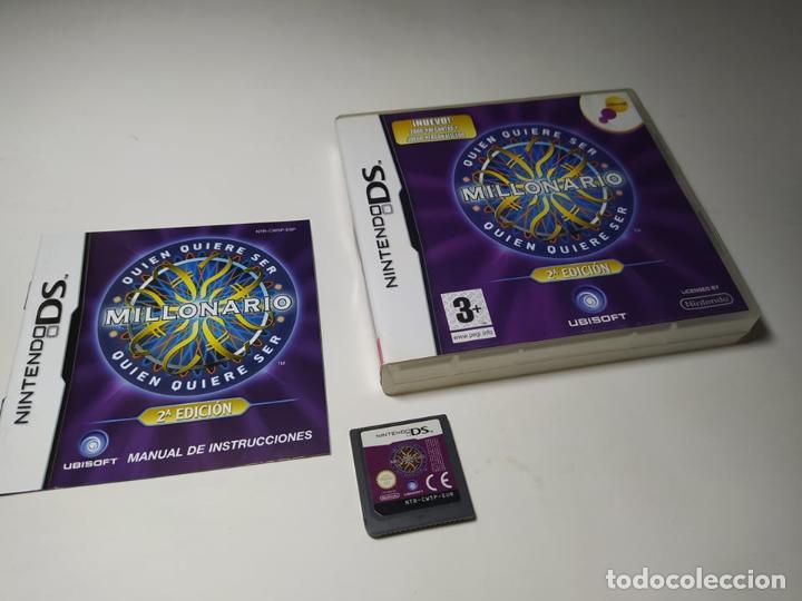¿ QUIEN QUIERE SER MILLONARIO ? 2A EDICION ( NINTENDO DS - 2DS - 3DS) (Juguetes - Videojuegos y Consolas - Nintendo - DS)