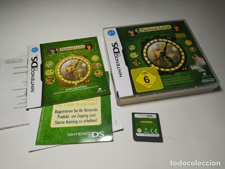 PROFESSOR LAYTON - UN DIE VERLORENE ZUKUNFT ( NINTENDO DS - 2DS - 3DS) (EN ALEMAN) (Juguetes - Videojuegos y Consolas - Nintendo - DS)