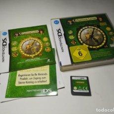 Videojuegos y Consolas: PROFESSOR LAYTON - UN DIE VERLORENE ZUKUNFT ( NINTENDO DS - 2DS - 3DS) (EN ALEMAN). Lote 219677775