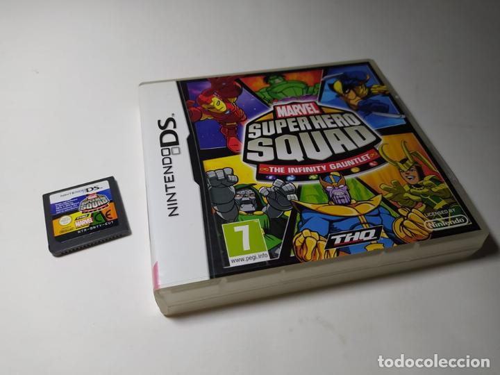 MARVEL SUPER HERO SQUAD ( NINTENDO DS - 2DS - 3DS - PAL - ESP) (Juguetes - Videojuegos y Consolas - Nintendo - DS)