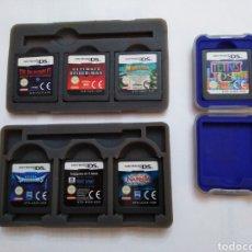 Videojuegos y Consolas: LOTE DE 7 JUEGOS NINTENDO DS. Lote 221317346