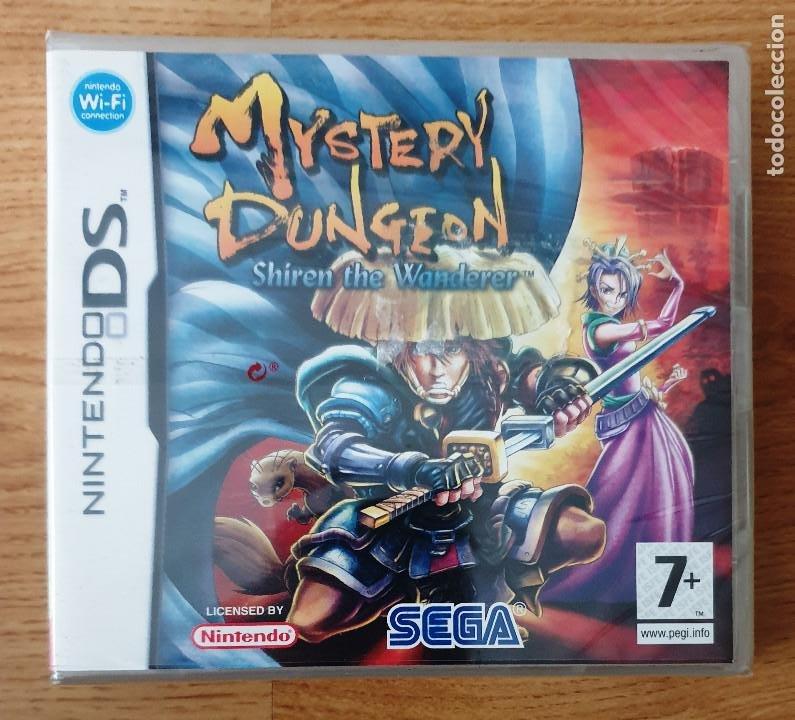 NINTENDO DS MYSTERY DUNGEON SHIREN THE WANDENER. PAL. NUEVO PRECINTADO (Juguetes - Videojuegos y Consolas - Nintendo - DS)