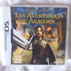 Videojuegos y Consolas: NINTENDO DS LAS AVENTURAS DE ARAGORN. Lote 222151701