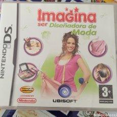 Videojuegos y Consolas: VIDEOJUEGO IMAGINA SER DISEÑADORA DE MODA. NINTENDO DS. Lote 222352193