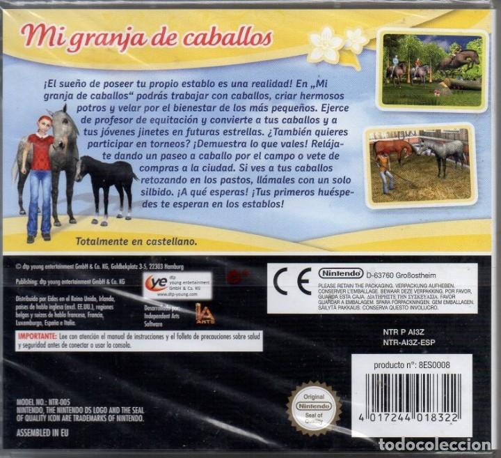 Videojuegos y Consolas: MI GRANJA DE CABALLOS (CABALLO & PONY) - JUEGO NINTENDO DS (PRECINTADO) - Foto 2 - 222416116