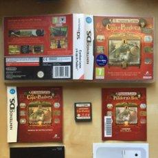 Videojuegos y Consolas: EL PROFESOR LAYTON Y LA CAJA DE PANDORA - PAL ESPAÑA - COMPLETO - NINTENDO DS 3DS. Lote 222741943