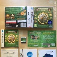Videojuegos y Consolas: EL PROFESOR LAYTON Y EL FUTURO PERDIDO - PAL ESPAÑA - COMPLETO - NINTENDO DS 3DS. Lote 222742163