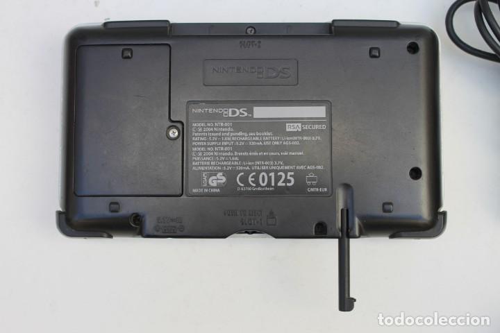 Videojuegos y Consolas: CONSOLA - NINTENDO DS NTR-001 - PLATEADA - CON CARGADOR Y FUNCIONANDO. - Foto 4 - 223453592