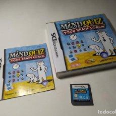 Videojuegos y Consolas: MIND QUIZ ( NINTENDO DS - 3DS - PAL - ESP). Lote 225507210