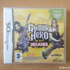 Videojuegos y Consolas: GUITAR HERO ON TOUR DECADES NINTENDO DS PRECINTADO. Lote 258252645