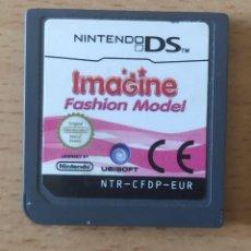Videojuegos y Consolas: IMAGINA SER FASHION MODEL NINTENDO DS. Lote 225572740