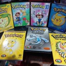 Videojuegos y Consolas: LOTE POKÉMON DVD Y GUÍAS DEL JUEGO JASON R.RICH ORO Y PLATA. Lote 227908573