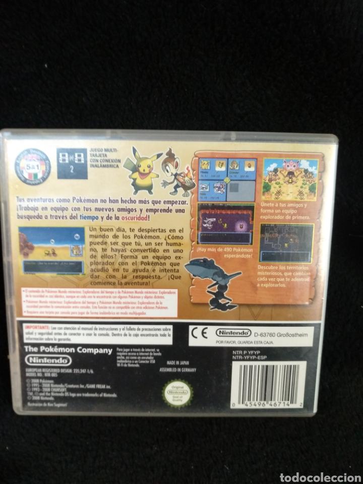 Videojuegos y Consolas: Caja y manual, Pokémon mundo misterioso. Nintendo DS - Foto 3 - 229298660
