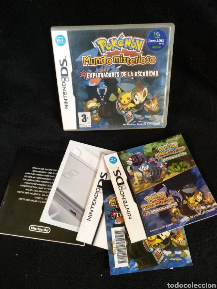 CAJA Y MANUAL, POKÉMON MUNDO MISTERIOSO. NINTENDO DS (Juguetes - Videojuegos y Consolas - Nintendo - DS)