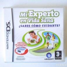 Videojuegos y Consolas: MI EXPERTO EN VIDA SANA NINTENDO DS. Lote 230077995