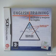 Videojuegos y Consolas: ENGLISH TRAINING NINTENDO DS. Lote 230078200