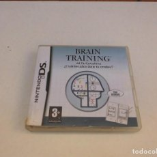 Videojuegos y Consolas: BRAIN TRAINING NINTENDO DS PAL ESPAÑA COMPLETO. Lote 231914975