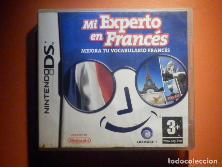 JUEGO MINTENDO DS - MI EXPERTO EN FRANCÉS - MEJORA TU VOCABULARIO- CON CAJA E INSTRUCCIONES (Juguetes - Videojuegos y Consolas - Nintendo - DS)