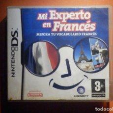 Videojuegos y Consolas: JUEGO MINTENDO DS - MI EXPERTO EN FRANCÉS - MEJORA TU VOCABULARIO- CON CAJA E INSTRUCCIONES. Lote 232819285
