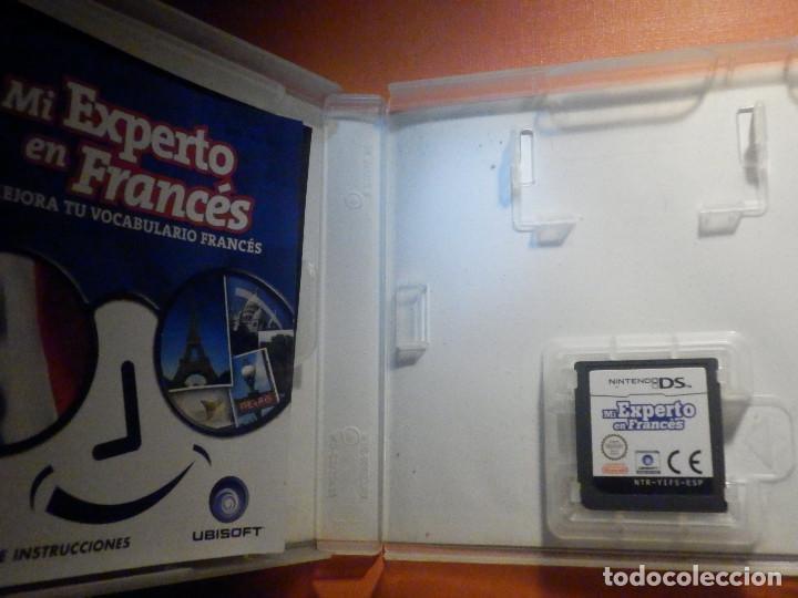 Videojuegos y Consolas: Juego Mintendo DS - Mi experto en Francés - Mejora tu vocabulario- Con caja e instrucciones - Foto 2 - 232819285