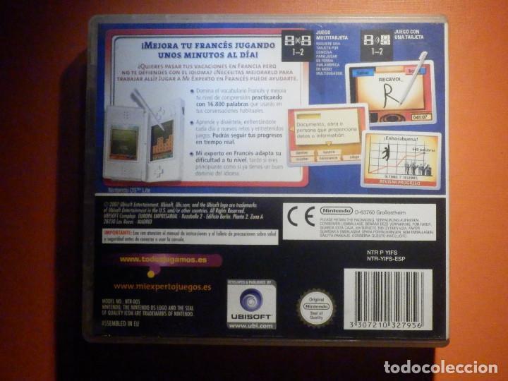 Videojuegos y Consolas: Juego Mintendo DS - Mi experto en Francés - Mejora tu vocabulario- Con caja e instrucciones - Foto 3 - 232819285